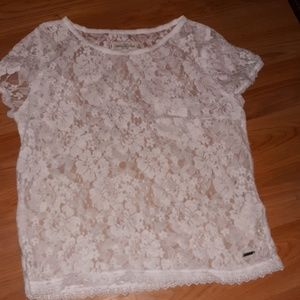 Abercrombie & Fitch lace shirt